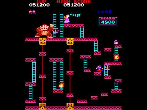 Download Youtube: Arcade Longplay [499] Donkey Kong