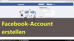 Facebook Account erstellen