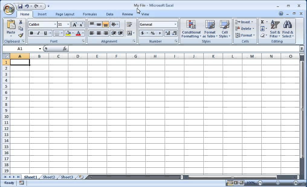 Excel 2010 tutorials.