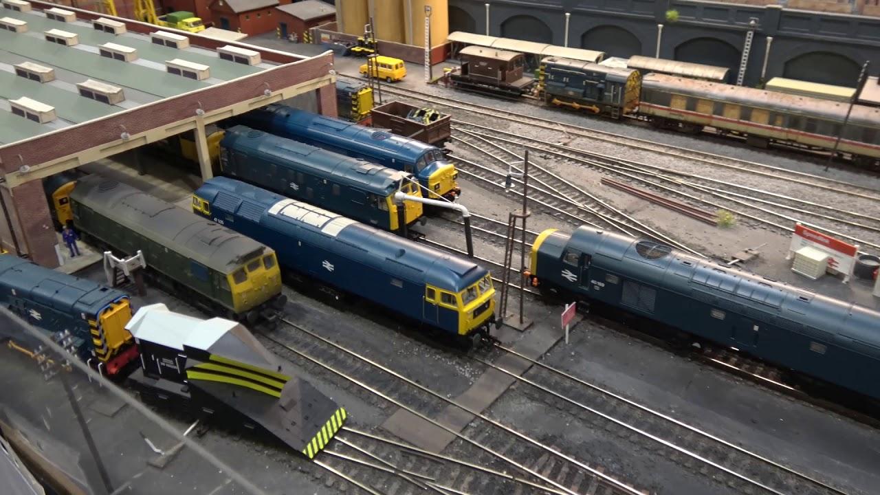 warley national model railway exhibition 2018 part 10 youtube