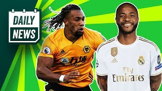 Is Sterling's future at Real Madrid? + Europa League action! ► Daily News