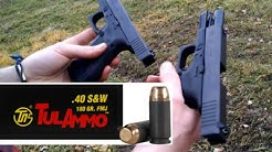 .40 Caliber Glocks Part2: Tulammo Steel Case Test