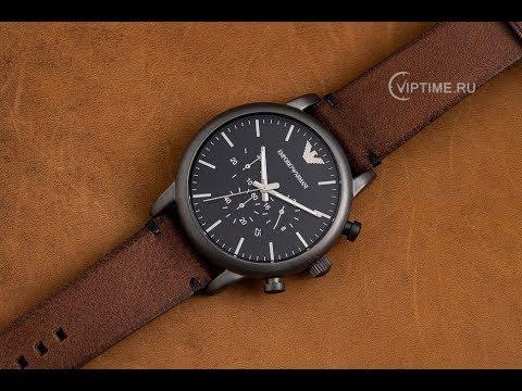 ⌚ Watch Review Emporio Armani AR1919 ✅ Viptime.ru