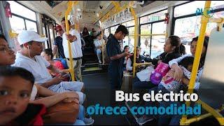 Bus eléctrico realiza pruebas en Guatemala y Mixco | Prensa Libre