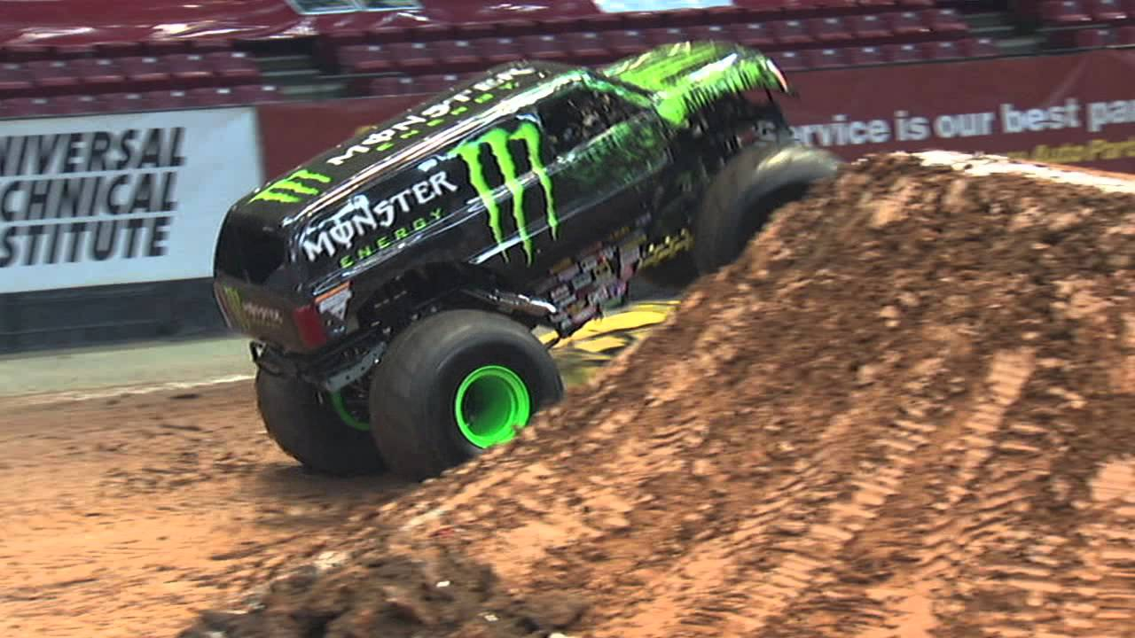 Monster Jam Monster Energy Monster Truck Debuts In Birmingham