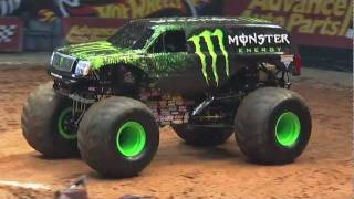 Monster Jam - Monster Energy Monster Truck Debuts in Birmingham