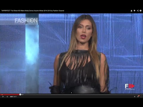 """Belen & Cecilia Rodriguez for """"IMPERFECT"""" Full Show HD Milano Moda Donna Fall Winter 2014 2015 by FC"""