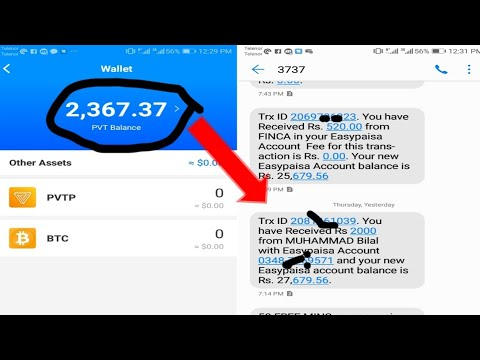 Pivot App New Update || PVT Balance Widthraw JazzCash Esaypaisa