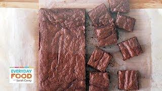 Triple-Chocolate Brownies (HEALTHY DINNER COLLAB!) - Everyday Food with Sarah Carey