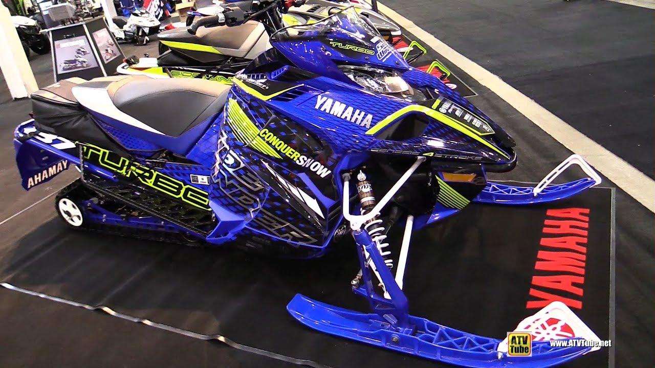 2018 yamaha sidewinder l-tx le sled - walkaround - 2017 toronto