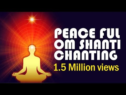 Om shanti chanting  -  peaceful  music for meditation