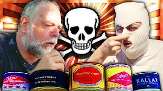 HOW TO EAT SURSTRÖMMING (SURSTRÖMMING TEST)