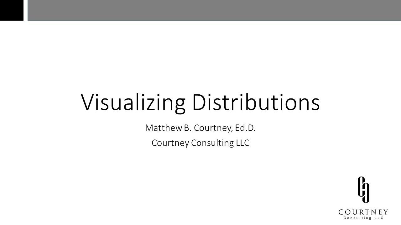 Visualizing Distributions