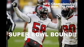 NFC Championship || Tampa Bay Buccaneers Best Plays vs Packers || 1/24/2021
