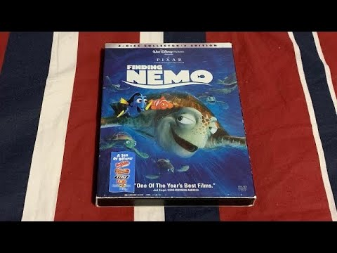 Opening To Finding Nemo 2003 DVD (Disc 2)