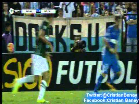 Racing 4 Deportivo Cali 2 (Relato Leo Gentili)  Copa Libertadores 2016