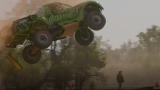 Spectacular crash at Australian Off Road Championship