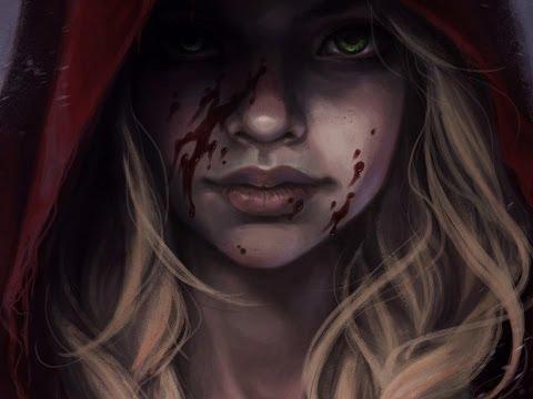 Photoshop digital art making-of: Red Riding Hood by Olga AsuROCKS Andriyenko