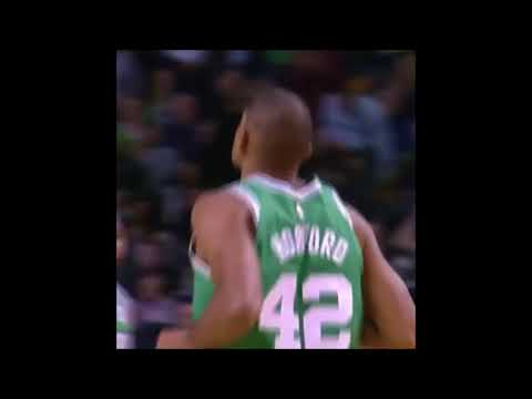 Al Horford follows up the miss for the Cetics!