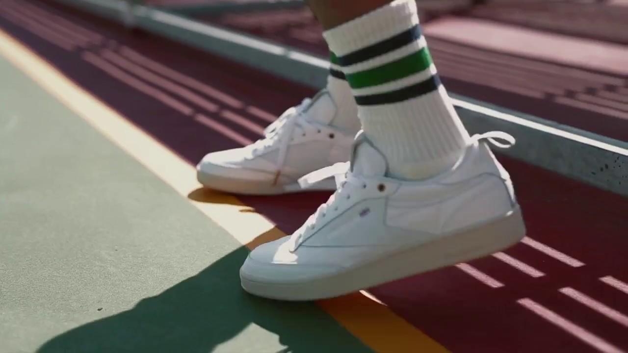 reebok x uo club c sneaker. crossover x reebok club c \ uo sneaker a