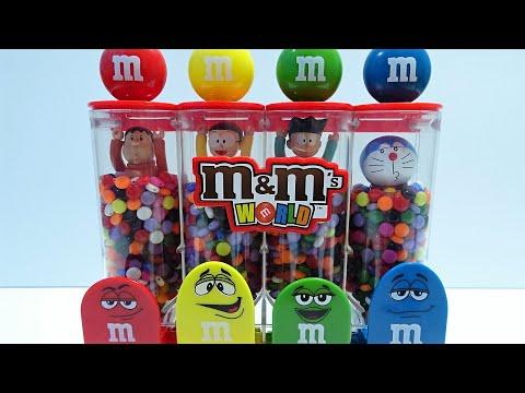Doraemon go into marble style beads Spo Spo!and come out like Spon Spon!for kids!yupyon