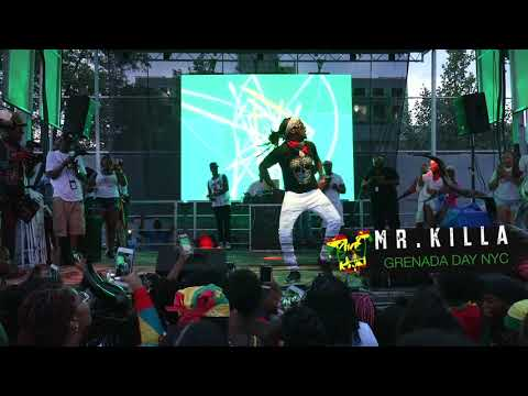 Mr. Killa Performance @ Grenada Day NY 2018