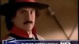 Casting de Zorro: la espada y la rosa