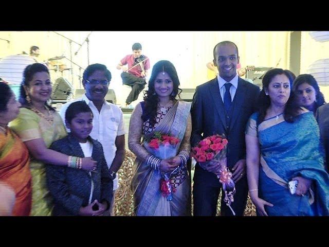 Lakshmy Ramakrishnan Daughters Wedding Reception | K Balachander | Bharathiraja | KS Ravikumar - BW