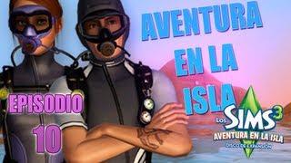 LOS SIMS 3 AVENTURA EN LA ISLA | EP.10 BAJO DEL MAR (8) TUTUTURU (CANTANDO)