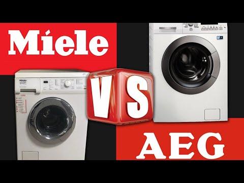 Miele против AEG. Стиральные машины. Waschmaschine Miele Gegen AEG.