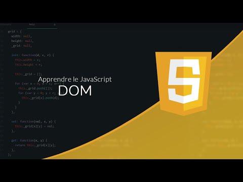 JavaScript (11/18) : Le DOM