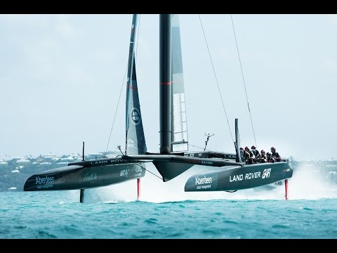 Race to innovate: digital position feedback for Land Rover BAR's America's Cup boat