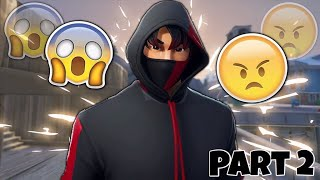 Toxic Fortnite Fill Players React To The Ikonik Skin & Scenario Emote (Part 2)