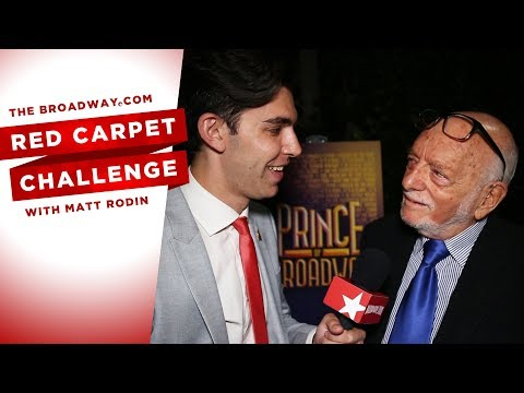 RED CARPET CHALLENGE: PRINCE OF BROADWAY with Harold Prince, Carol Burnett and more!
