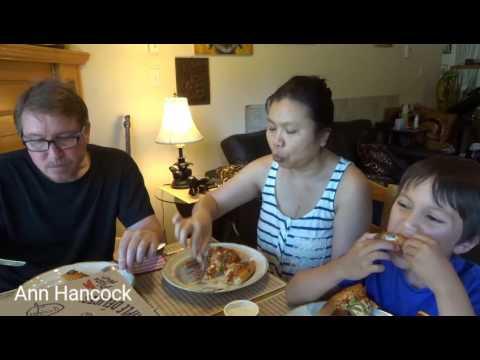 Pizza Hut with Family กินพิซซ่าฮัท กับครอบครัว by Ann Hancock