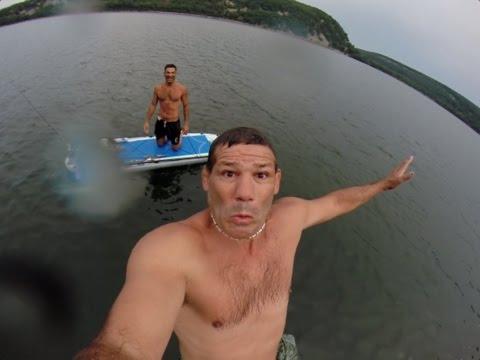 devil's lake rock jumping w johnnie