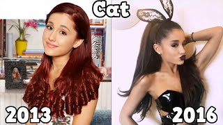 Sam & Cat Then and Now