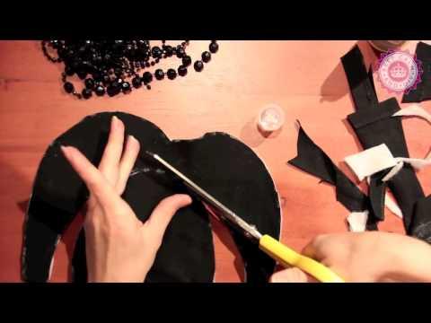 DIY:Воротник из бусин своими руками