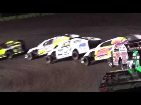 IMCA Mod Feature Boone Speedway Boone Iowa 8/20/16