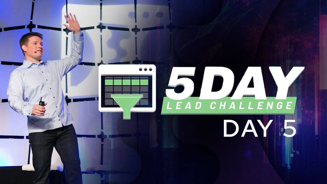 (2) 5 Day Lead Challenge – Day 5 – YouTube