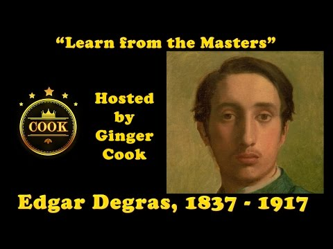 Edgar Degas - Learning from the Masters with Ginger Cook an Impromptu Live Lesson