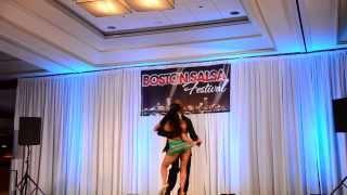 Boston Salsa Festival - Junior and Anya 2013-08-18