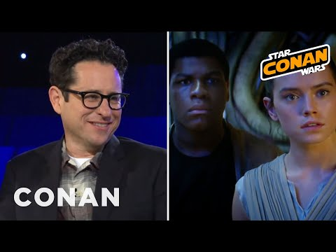 "J.J. Abrams Inserted ""Jub Jub"" Into ""The Force Awakens""  - CONAN on TBS"