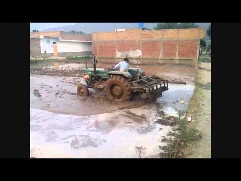 Field Puddling and Rice Transplanting in Swat Valley, 8 July 2k15