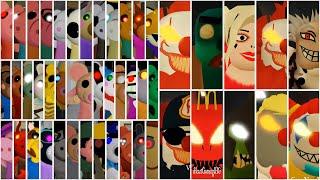 ROBLOX PIGGY VS RONALD ALL JUMPSCARES + ROBUX CARD GIVEAWAY