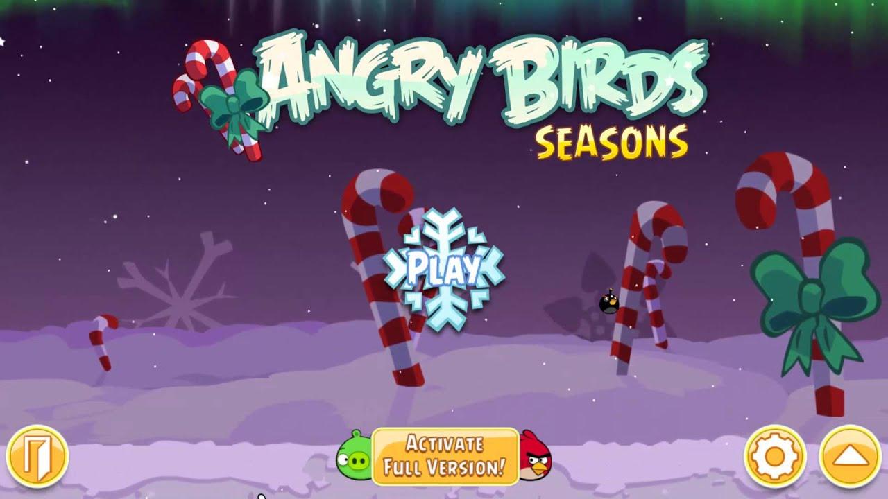 Angry Birds Seasons Winter Wonderham Theme Pc Version