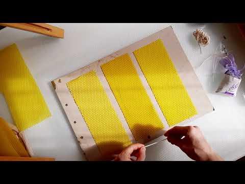 Медовые свечи (базовые). как их делать.