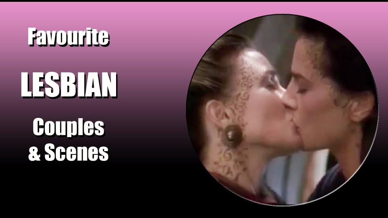 FAVOURITE LESBIAN COUPLES & SCENES # 3