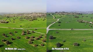 Comparing 4k Mavic Air and Phantom 4 Pro footage. Can you see the 7 differences?