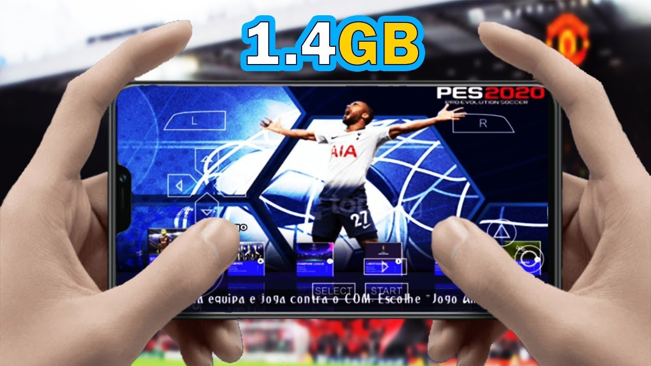 NEW!! PES 2020 PPSSPP Android 1 4GB Update Face Kits & Transfers Best  Graphics HD by HafisG9
